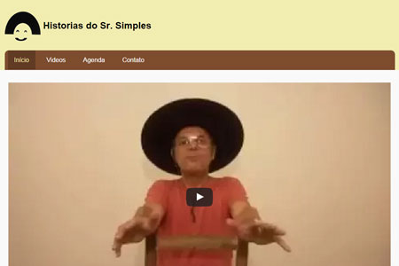 Desenvolvimento Front-end e Back-end do site/blog Historias do Sr. Simples